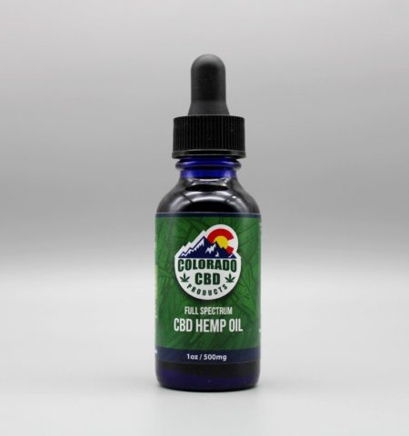 Colorado CBD Products 500 mg Tincture